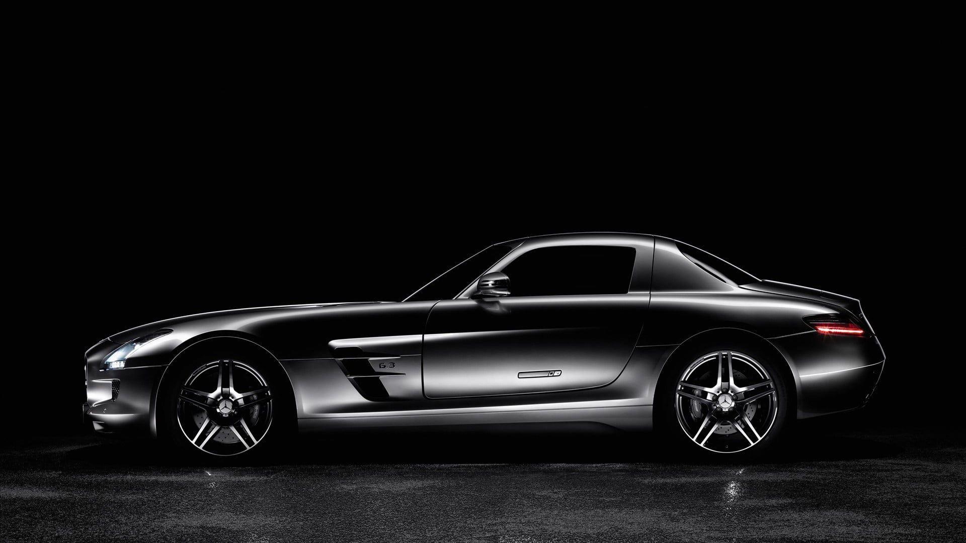 Gray Mercedes Sls Amg Car Mercedes Benz Mercedes Benz Sls Amg