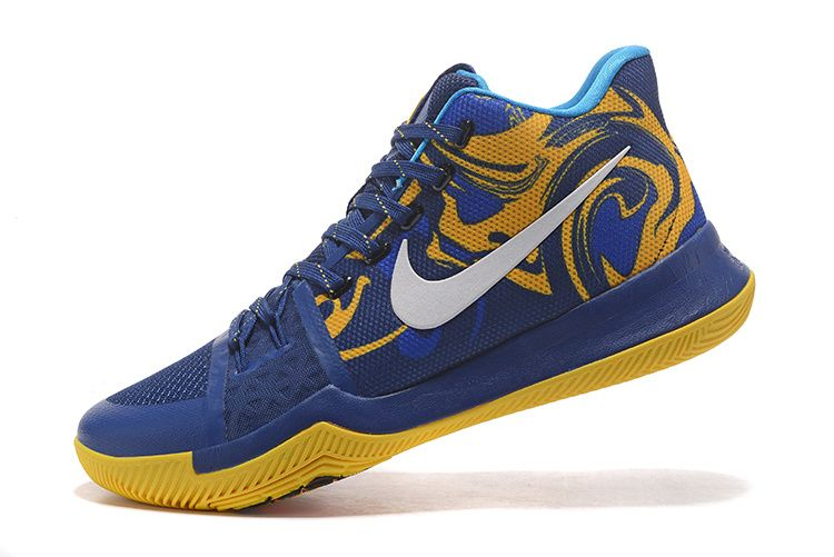low priced 1d2c0 c96e9 Shoes 2017 · Latest Yellow Hyper Cobalt Kyrie 3 III