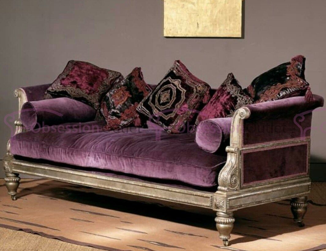 Couch Lila Sku Lsd298 - Obsession Outlet | Purple Sofa, Furniture, Classic Sofa Styles
