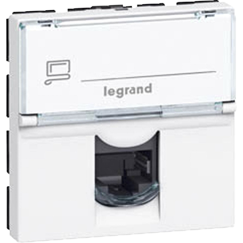 Prise Rj45 Mosaic Legrand Blanc Products En 2019 Prise