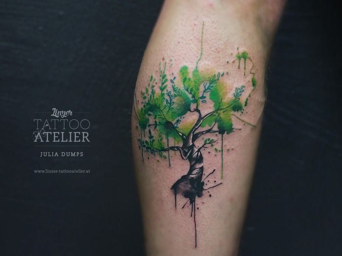 Watercolor Tree Tattoo Google Search Tatuajes Inspiradores