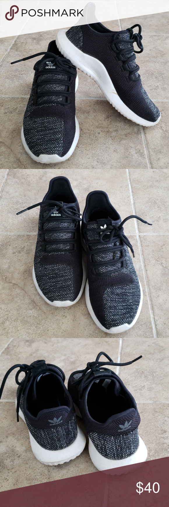Adidas Tubular in Boy size 5   womens 7 Gently worn Adidas Tubular shoes in Boy  size 5 754c4cb25b
