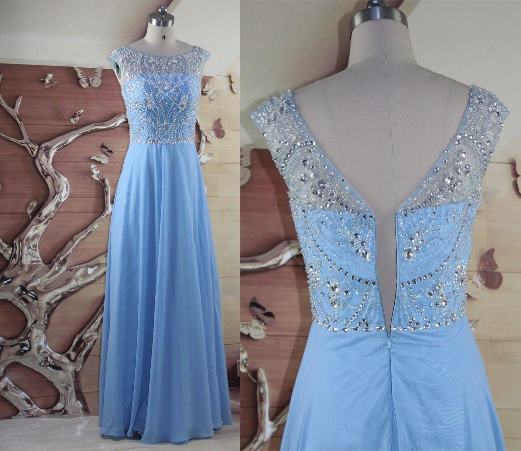 Bmbridal Elegant V Neck Long Sleeves Appliques Beadings Prom Dresses With Overskirt Promdresses