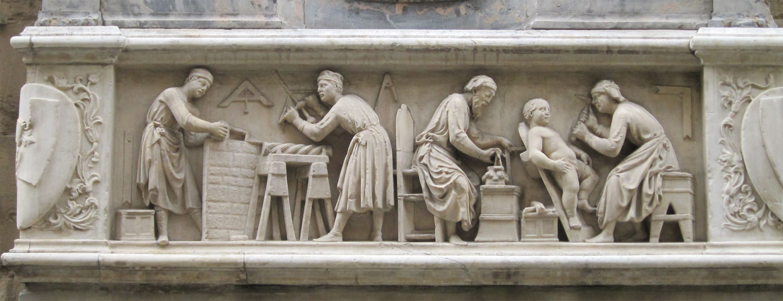 Medieval Guilds And Craft Production Renaissance Kunst Kunst Ideen