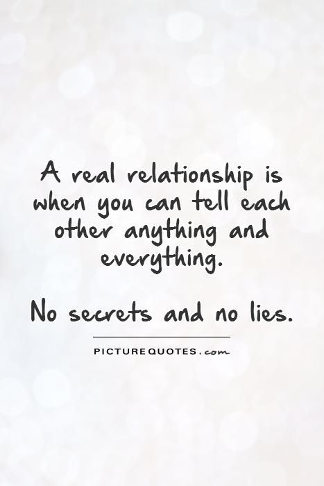 Quotes About Lies And Secrets Quotesgram Lies Quotes Good Relationship Quotes Secret Quotes