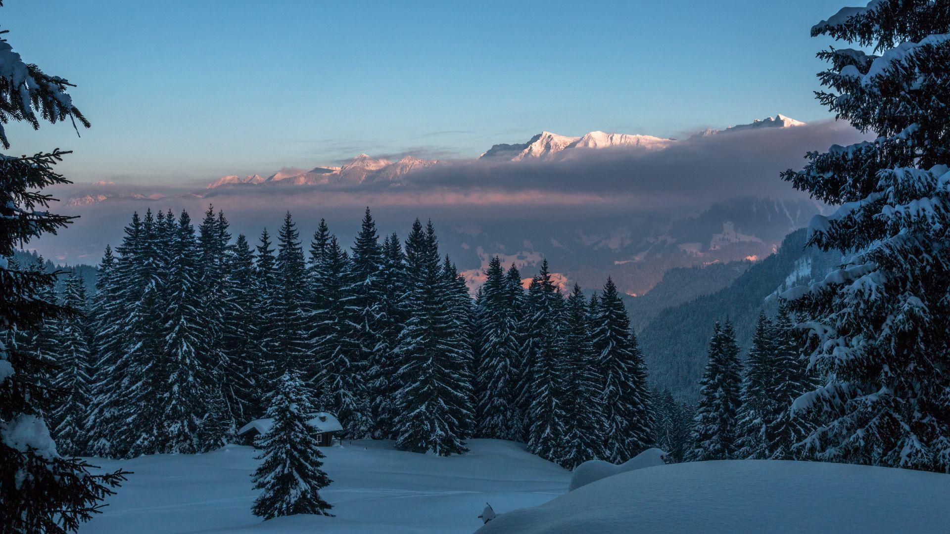 Mountain Winter [1920×1080] 4K