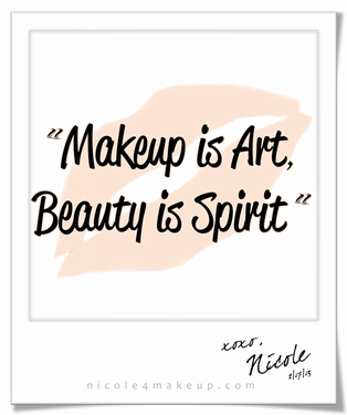 Quotes On Beauty Makeup Is Art Beauty Is Spirit#quote…  Quips & Quotes  Pinterest
