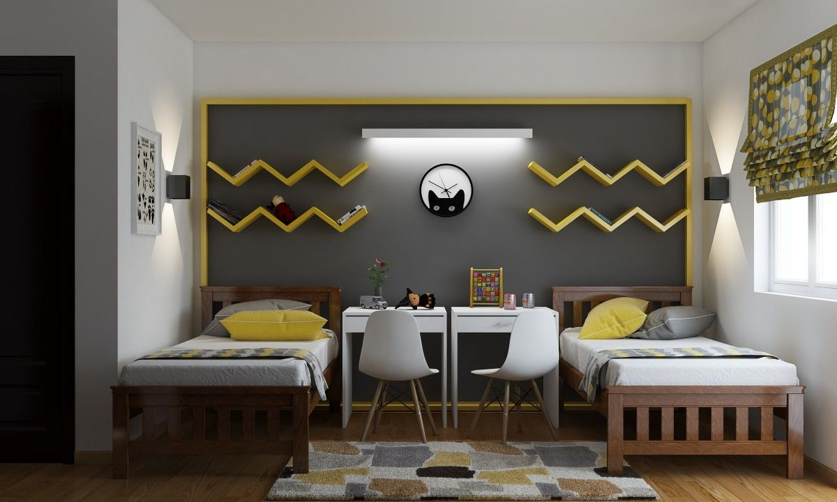 Canary Corner Modern Kids Bedroom Modern Kids Room Dining Room