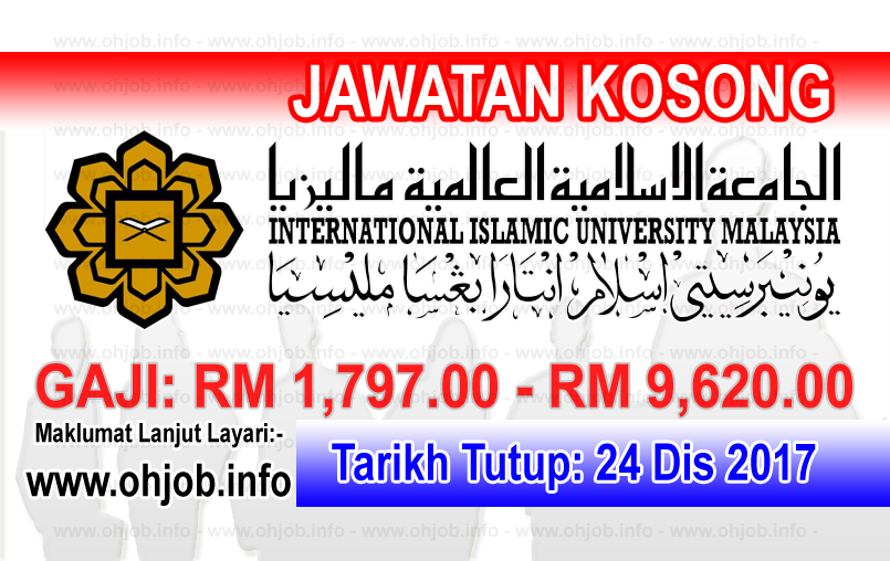 Jawatan Kosong IIUM International Islamic University