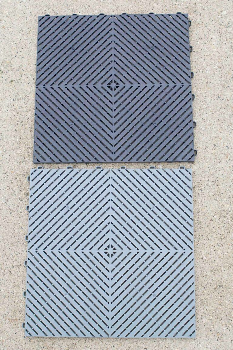How to Install Garage Floor Tiles, Step-By-Step | Garage ...