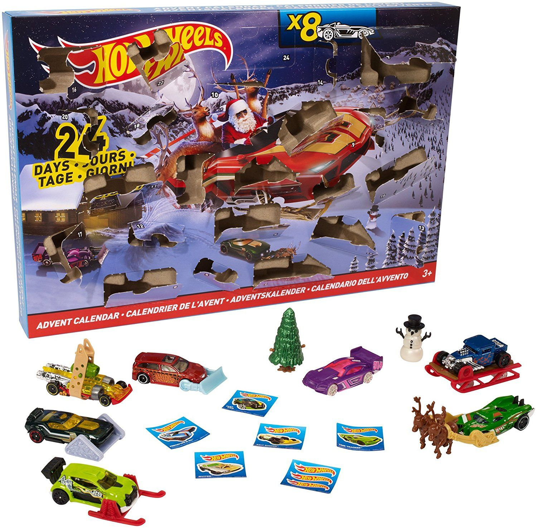 Weihnachtskalender Hot Wheels.Mattel Hot Wheels Dmh53 Adventskalender 2016 Amazon De Spielzeug