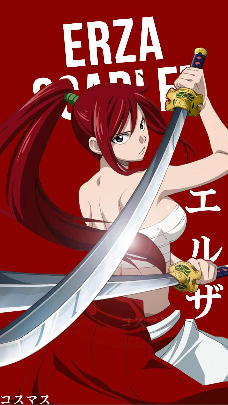 Erza Scarlet Korigengi Wallpaper Anime Personajes de