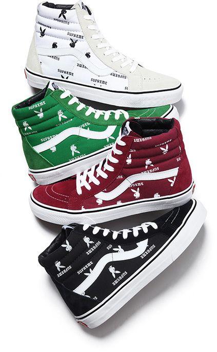 supreme vans scarpe