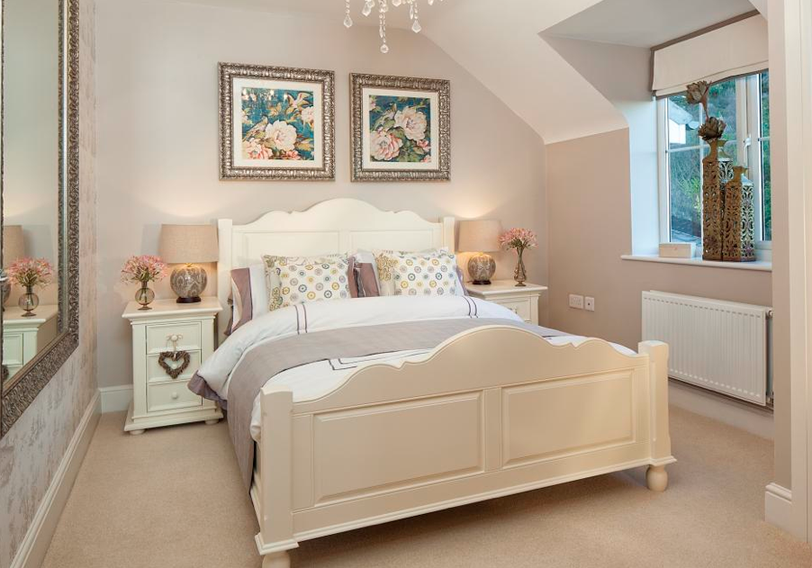 Gorgeous guest bedroom or grownup teenage girls for Dulux paint ideas bedroom