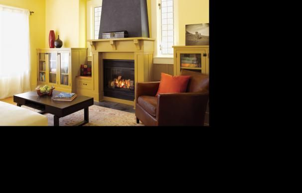 All About Gas Fireplaces | Gas fireplace, Vintage furniture and ...