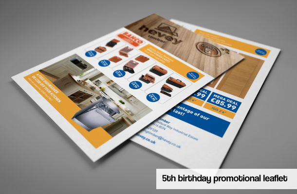 Promotional Leaflet With Offers To Celebrate The Th Birthday Of