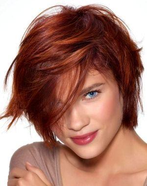 carré dynamique auburn HairMerrGerrd en 2019 Cheveux