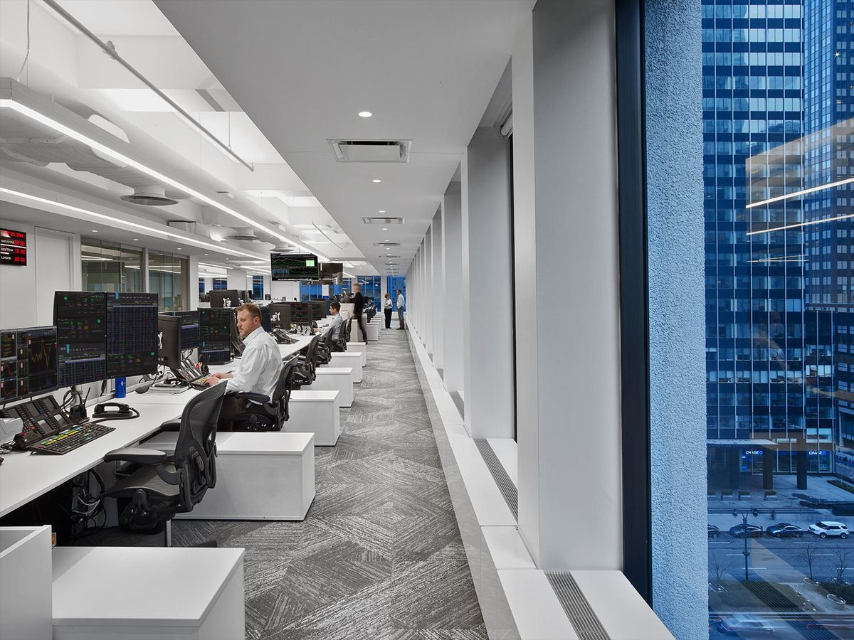 Office Tour Investment Firm Offices New York City