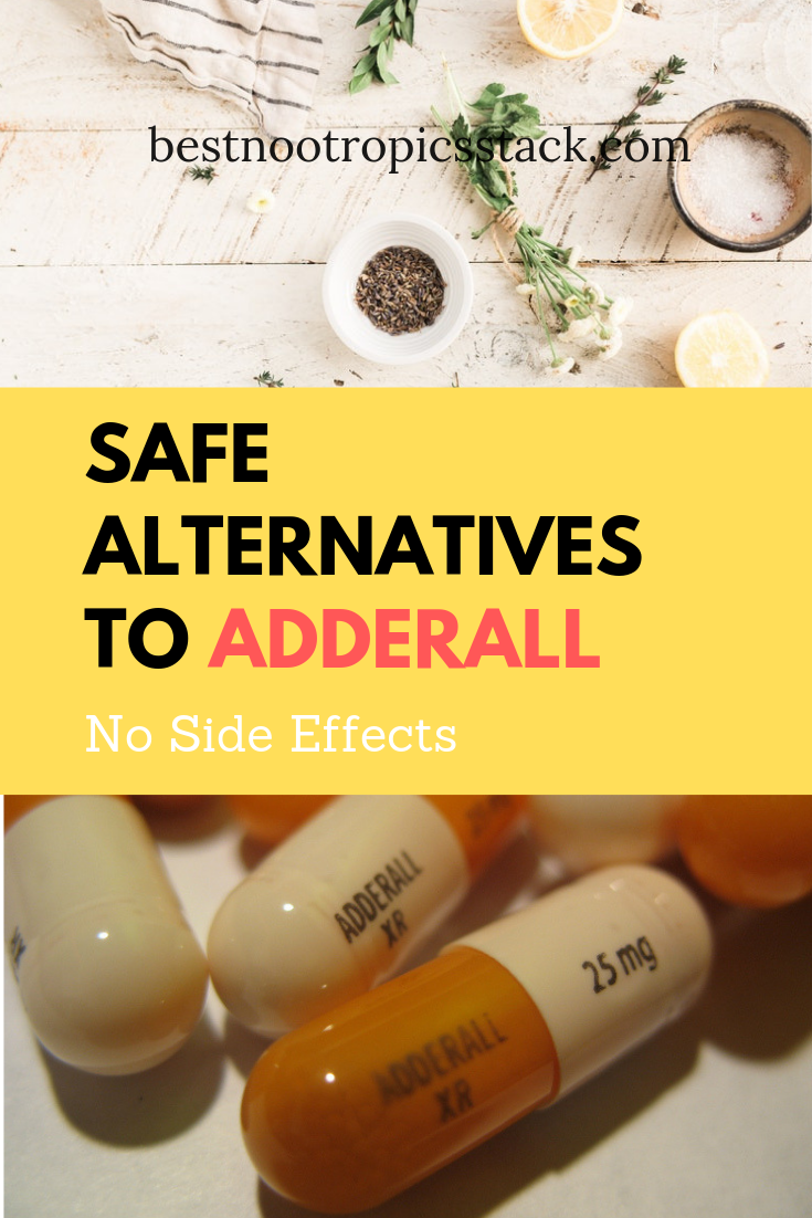 Safe Alternatives To Adderall As A Study Drug No Side Effects