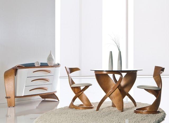 Moderne Design Möbel Aus Holz   Exklusive Rundungen Und Finesse