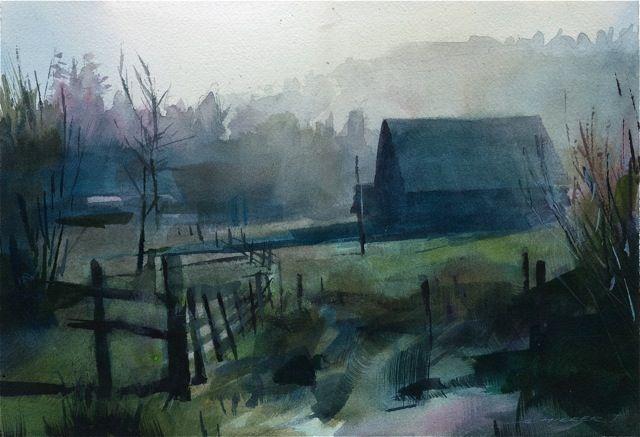 Stan Miller Artist Landscape Drawings Landscape Art Watercolor Landscape