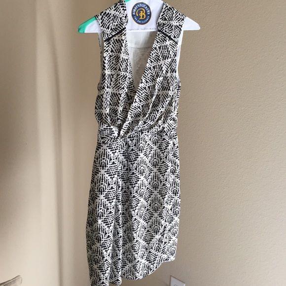 Elorie Black and white pattern sleeveless dress Elorie Black and white pattern sleeveless dress Elorie Dresses