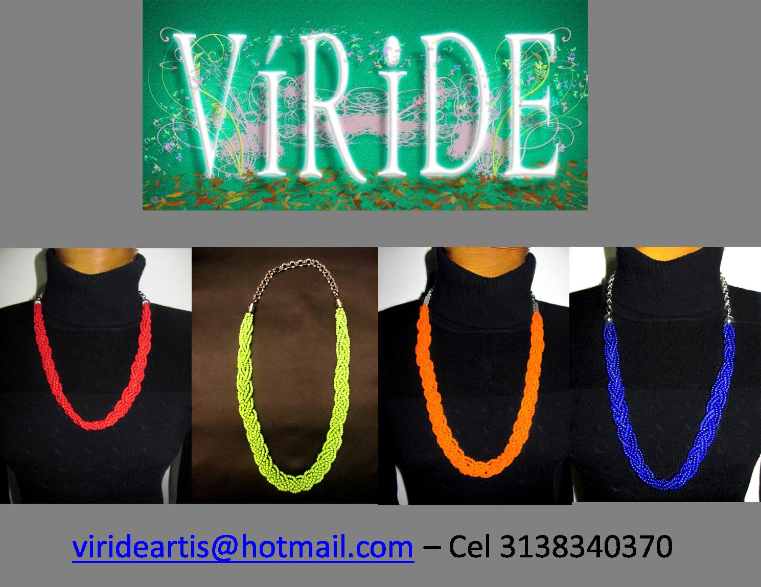 Collares elaborados en chaquiras piedras naturales for Piedras naturales