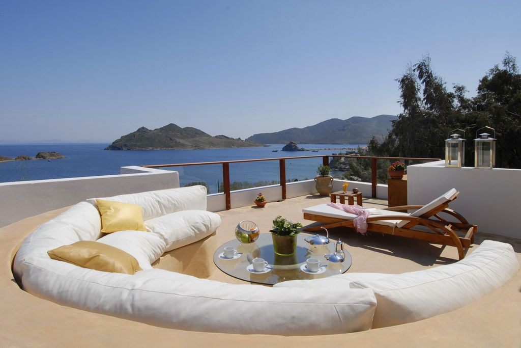 Patmos Luxury Hotels True Greece Presents The Hotel Petra Suites In Located Grikos Bay