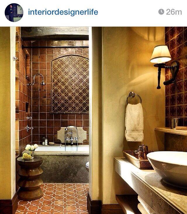 Mediterranean Bathroom, Spanish Style Bathrooms