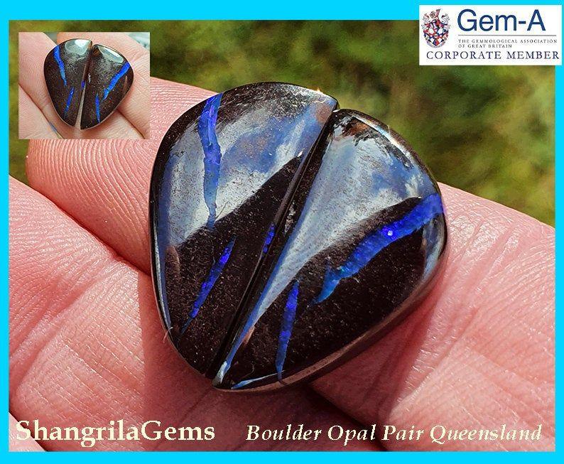 22mm x 39mm Boulder Opal