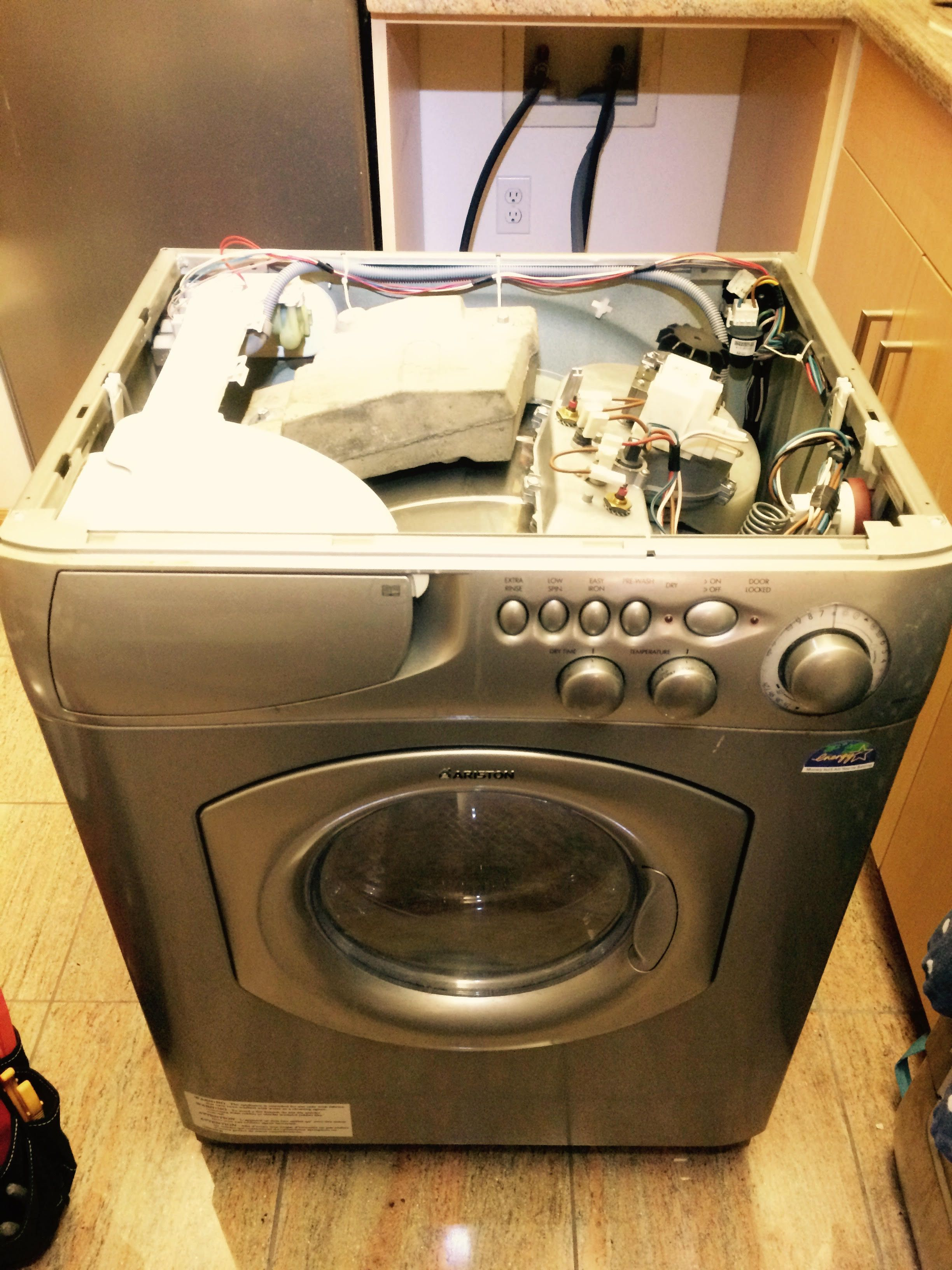ariston washer dryer combo repair weo ariston