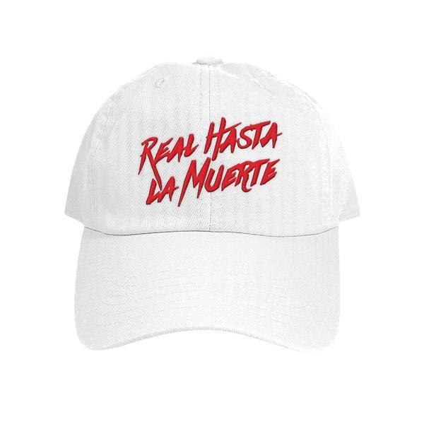c6c0617431909 Real Hasta La Muerte White Hat