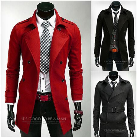 78 Best images about Men's red trench coats on Pinterest | Coats