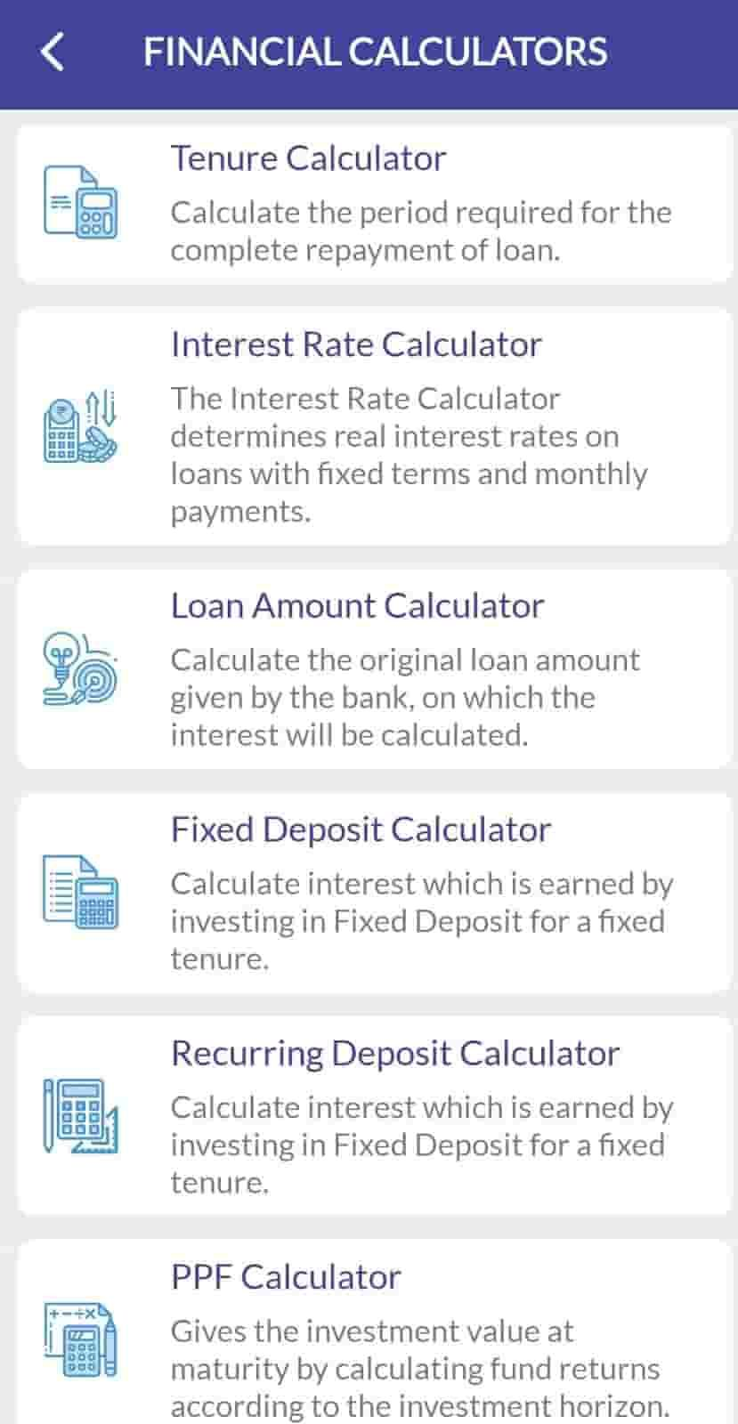 afinoz finance calculator