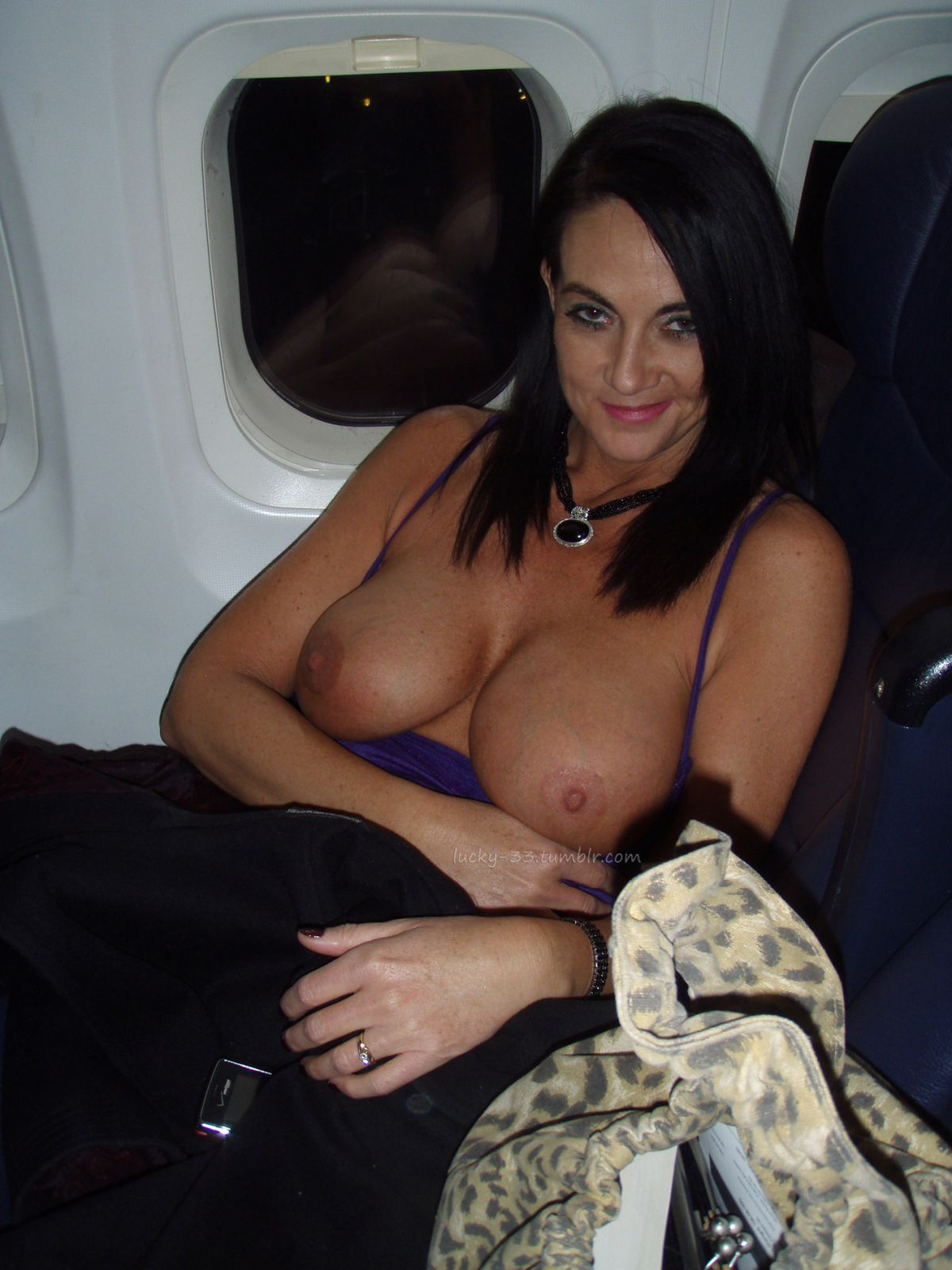Topless On A Plane  Public  Pinterest  Boobs, Female -2057