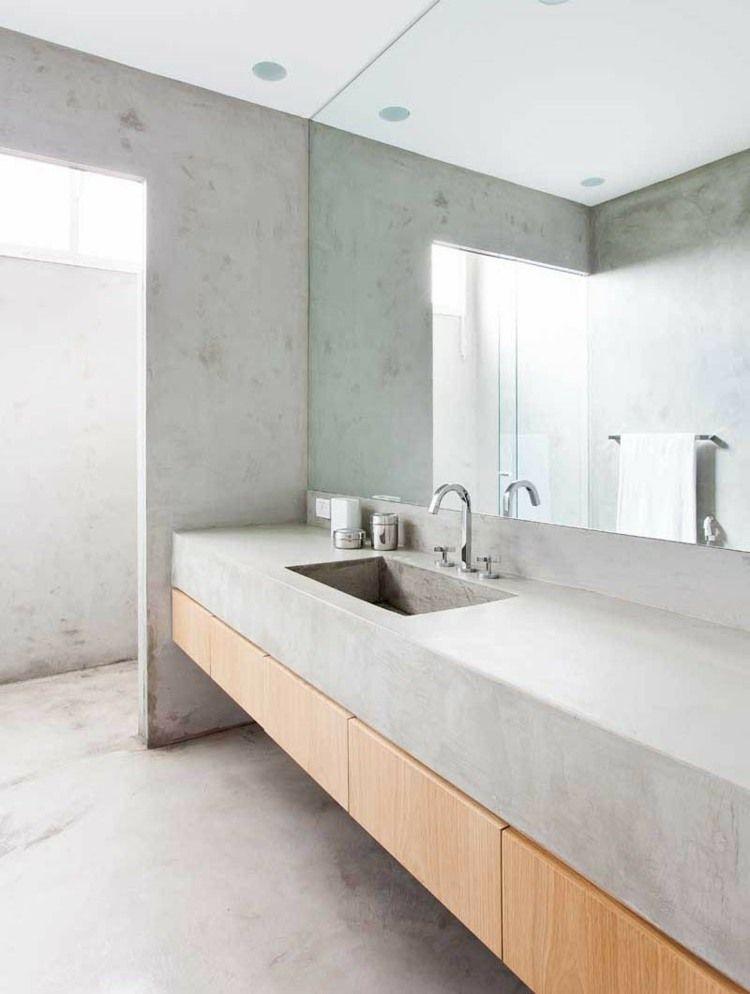 La salle de bain décoration minimaliste moderne en 25 idées Interiors