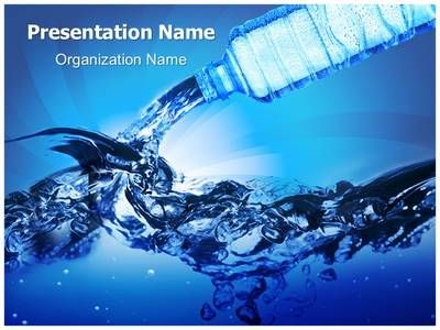 Bottled Water Powerpoint Template is one of the best PowerPoint - water powerpoint template