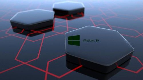 Windows 10 Desktop Image With 3d Art Black Hexagonal Wallpapers Hd Wallpapers Wallpapers Download High Resolution Wallpapers 3d Wallpaper For Laptop Windows Wallpaper Hexagon Wallpaper