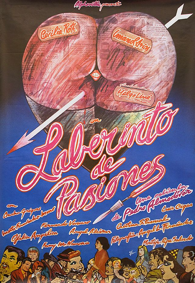 Labyrinth of Passion 1982 Spanish B1 Poster Posteritati