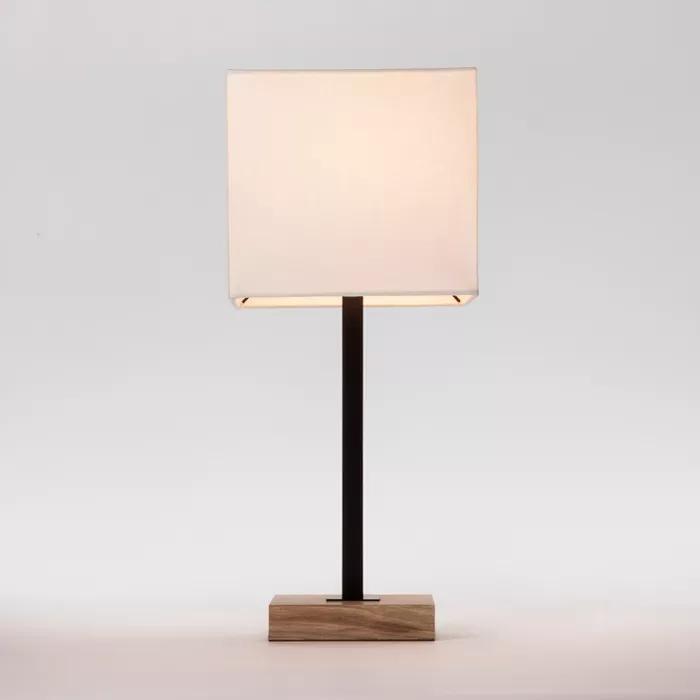 Black Table Lamps Lamp, Black Square Base Table Lamp