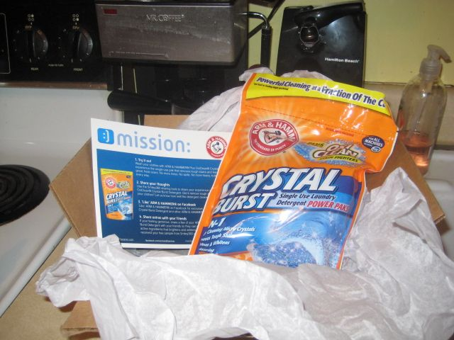 Free bag of Arm and Hammer and they worked great!!