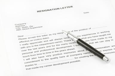 tips for writing a letter of resignation with examples - Writing A Resignation Letter Sample