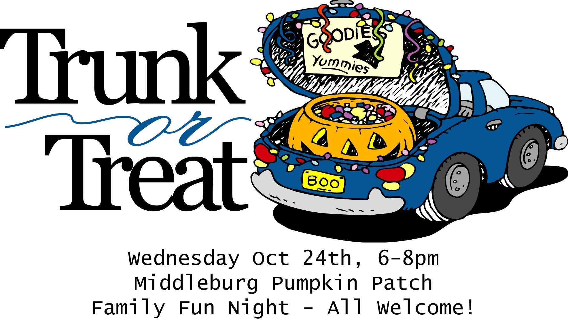 Wed Oct 24th 68pm pick your pumpkins while enjoying
