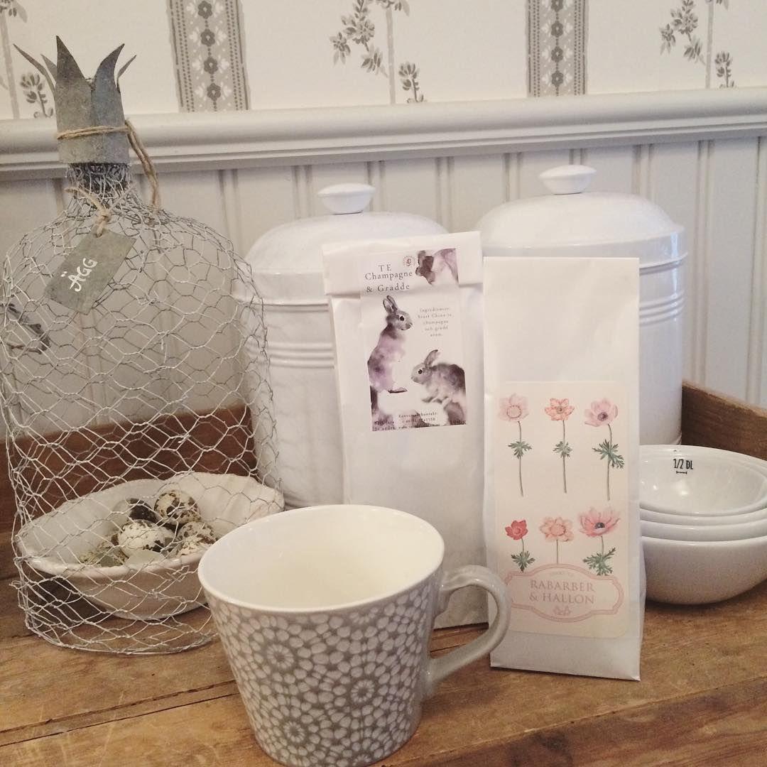 Köpte härligaste tepåsarna på @frokenflora idag! ☕️
