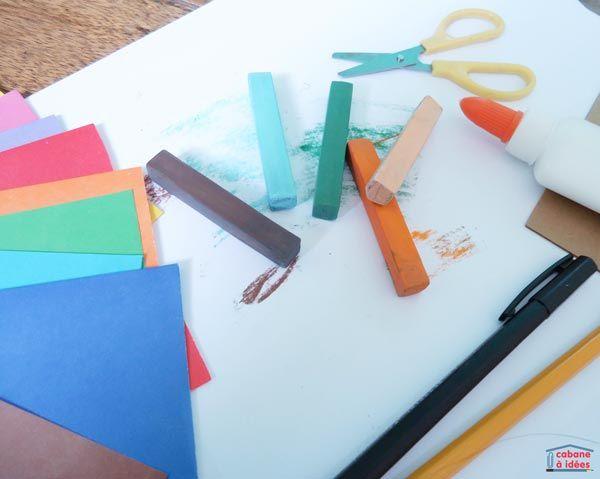 les diff rents types de papier pour faire des activit s manuelles avec des enfants type de. Black Bedroom Furniture Sets. Home Design Ideas