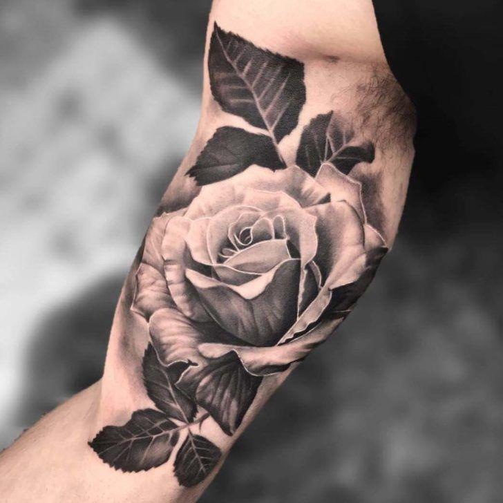 Photo of Inner Bicep Tattoo Rose | Best Tattoo Ideas Gallery