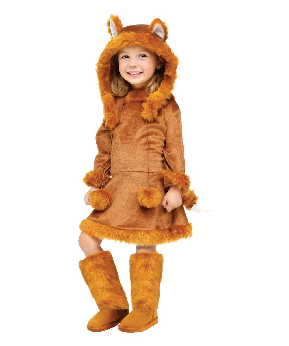 Sweet Fox Baby Wolf Animal Costume - Wolf Costumes  sc 1 st  Pinterest & Sweet Fox Girls Costume | Baby wolves Fox baby and Wolf costume