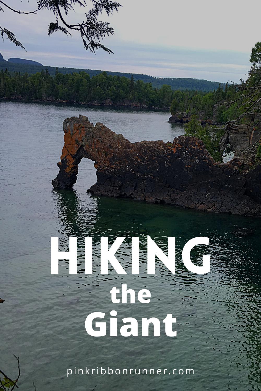 Hiking in Sleeping Giant Provincial Park, Ontario in 2020