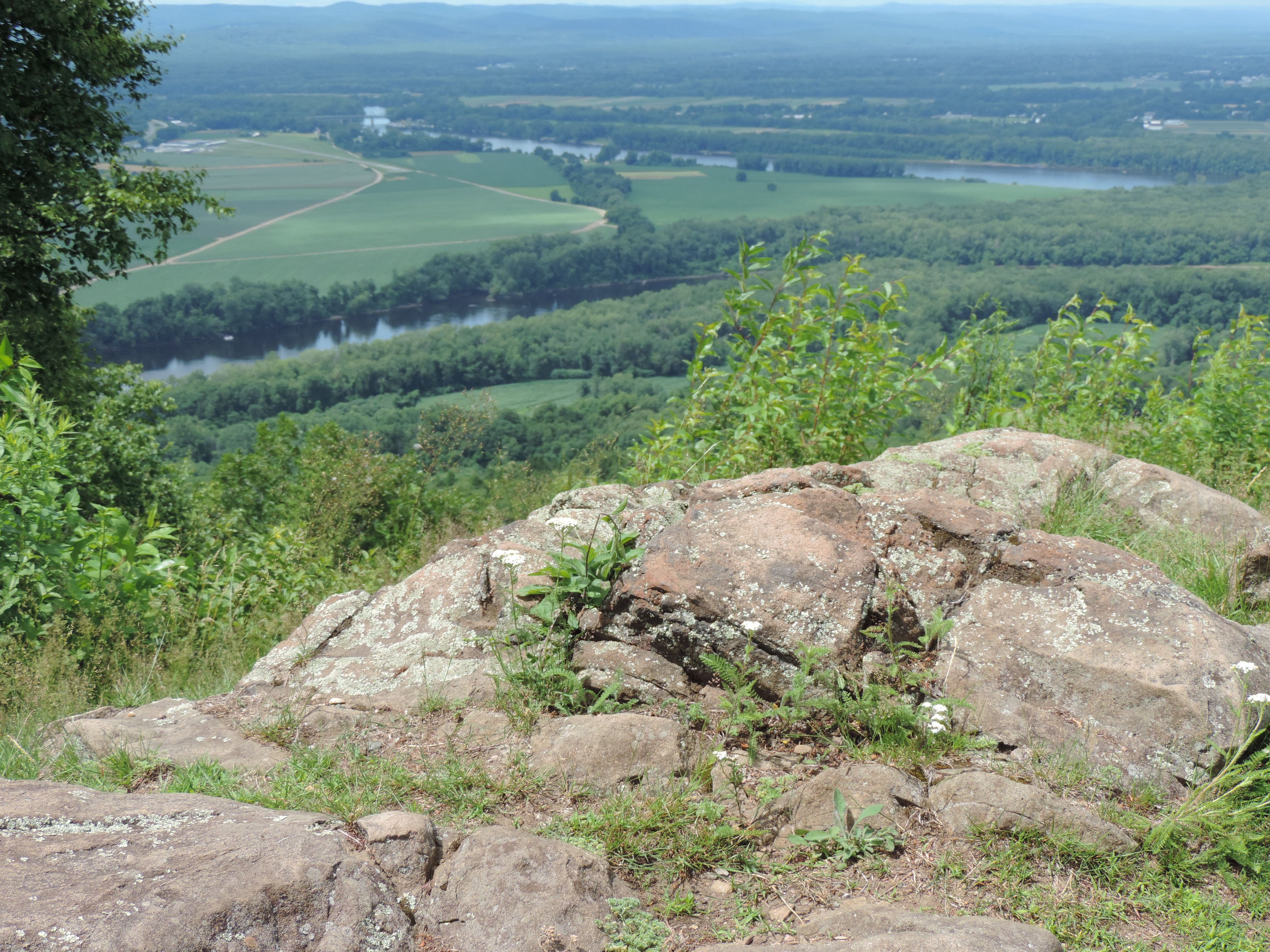 Overlooking Northampton Mass - took picture in July 2015 on a hot day!