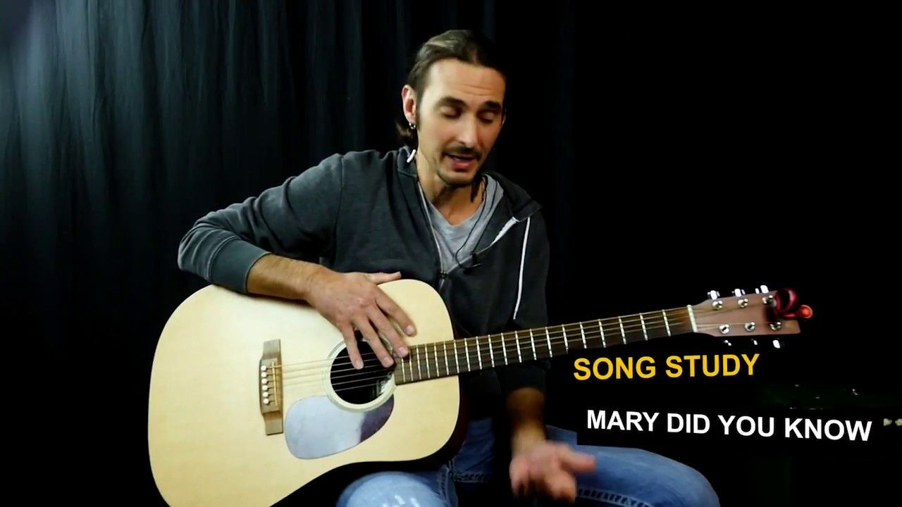 Mary Did You Know Guitar Lesson Youtube Guitar Guitar Acoustic Songs Guitar Lessons